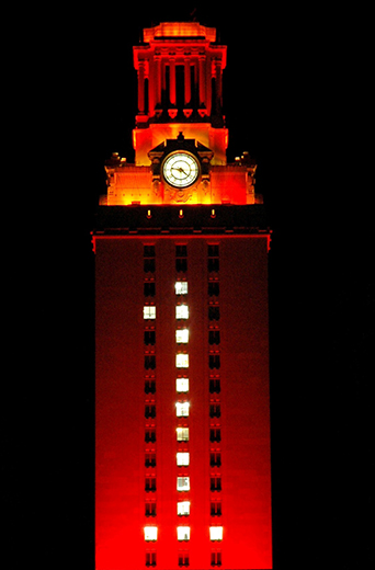 Tower at the University of Texas